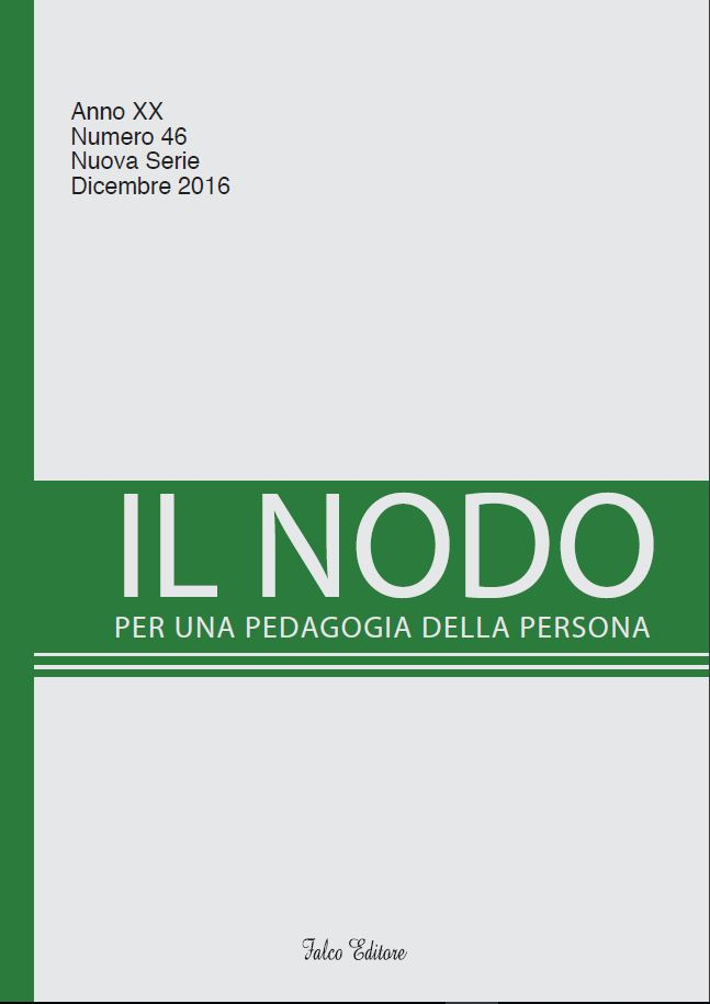 Il Nodo 2016_cover